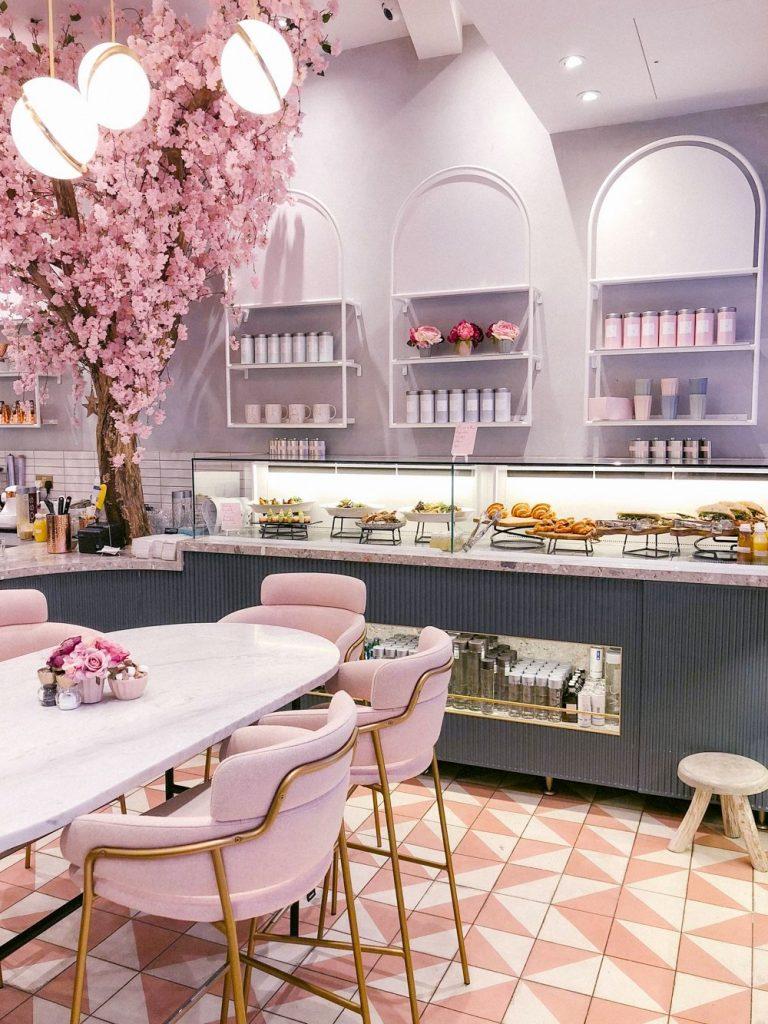 elan cafe london interiors theme based